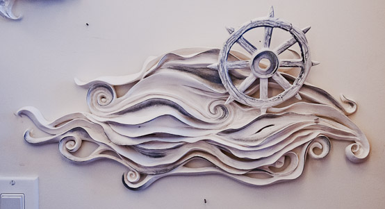 Marina's Water's  (wall piece)