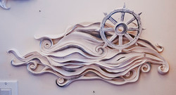 Marina's Water's  (wall piece)