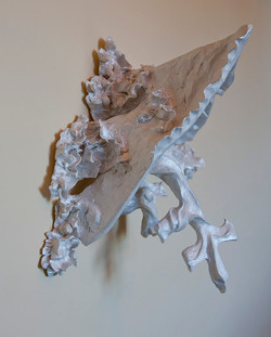 Wreckage Upheld   (wall piece)