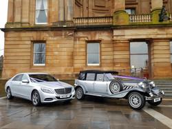 Mercedes S Class and 4 Door Beauford