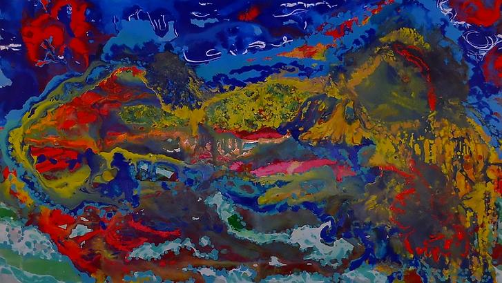 Pintor mexicano Edmundo Font, pintores mexicanos, artistas mexicanos