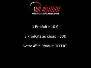 Gamme maquillage Sun Institute