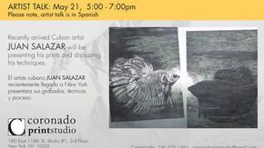 Juan Salazar | Artist Talk and Demonstration