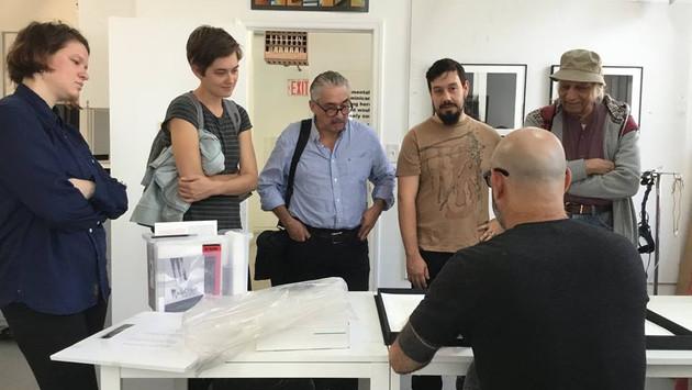 EFA | Robert Blackburn Printmaking Workshop Studio Visit