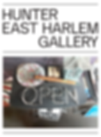 Hunter East Harlem Gallery art exhibition, What is Here is Open, Trash Collection, Coronado printstudio artwork, Hi-ARTS, art collaboration, East Harlem art