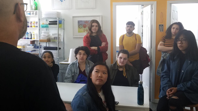 2019 | NYU Class Studio Visit