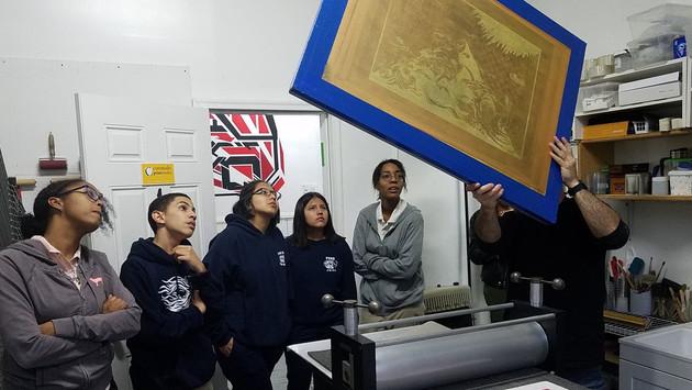 The Studio Museum in Harlem School Partnership | Park East High School