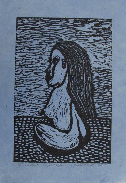 La Mujer de Trucutu (Blue)