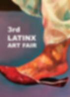 Art Fair flyer, SMV gallery, Coronado printstudio, Puero Rican and Dominican art, collaborative art, printmaking, Latino art, Latinx art, annual artshow