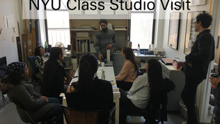 2018 | NYU Class Studio Visit