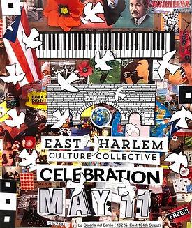 East Harlem Culture Collective art show, Coronado printstudio artwork, East Harlem art, Latino art