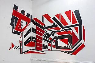 Acevedo Manuel's mural at Coronado Print Studio