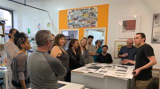 Marco Hernandez | Artist Talk and Demonstration