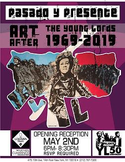 Pasado y Presente: Art After the Young Lords at the Nathan Cummings Foundation, Loisaida Center, Coronado printstudio artwork, East Harlem art, Young Lords, Latino art