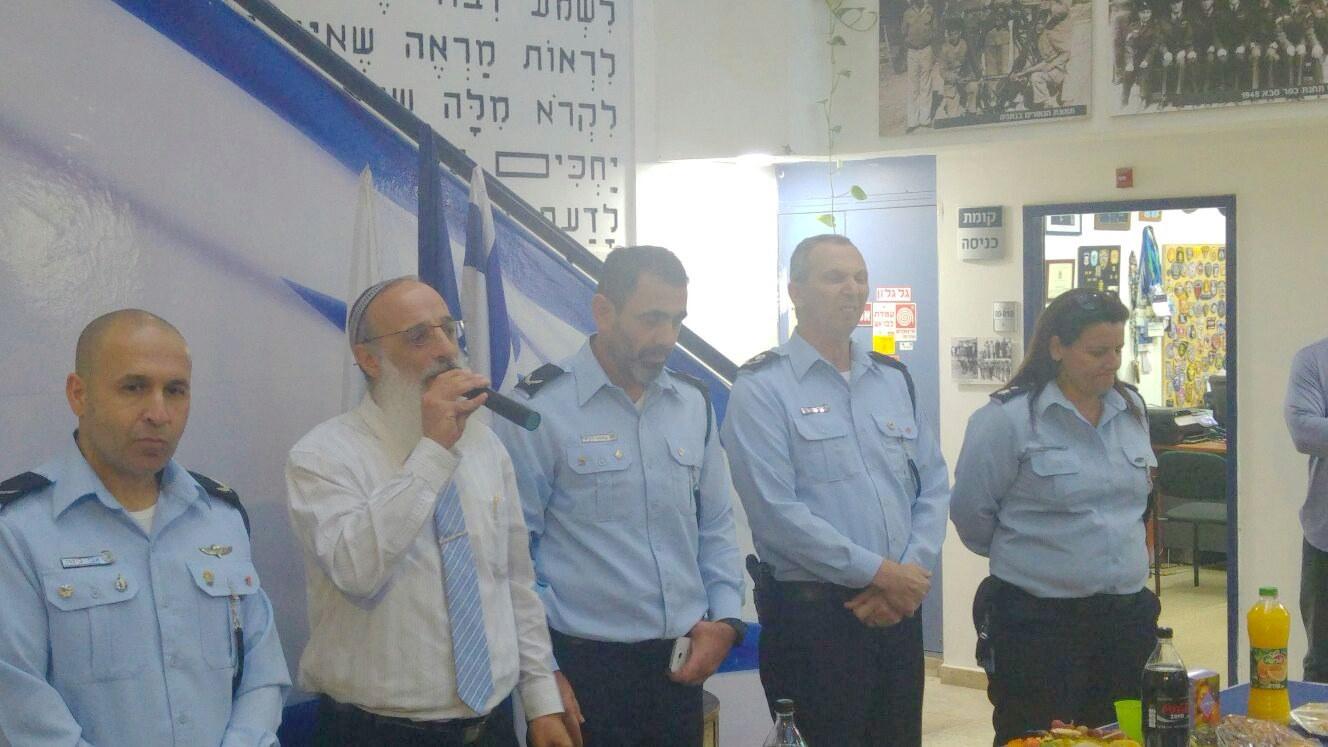 מפגש עם מפקדת המרחב, משטרת ישראל
