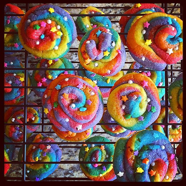 I make the #gayest treats. The absolute gayest