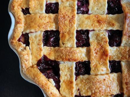 Bing Cherry Pie