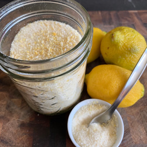 DIY Baking: Lemon Sugar