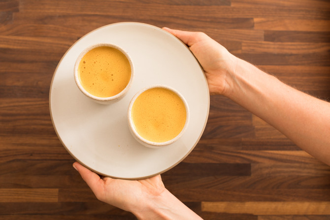 Recipe: Golden Goji Latte with Coconut Oil