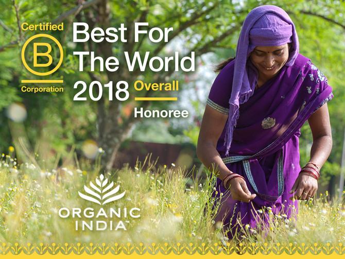 B The Change: ORGANIC INDIA's Regenerative Lifestyle