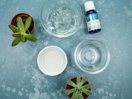 DIY: Homemade Hand Sanitizer with Tea Tree Essential Oil