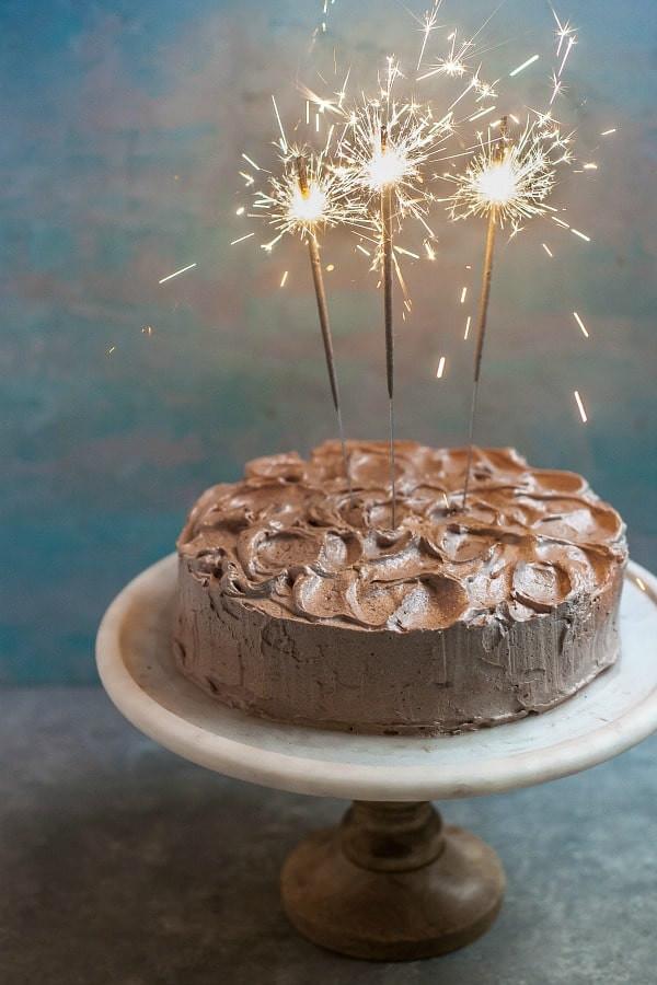 Recipe: Paleo Chocolate Cake with Chocolate Frosting (Grain-Free, Dairy-Free, Nut-Free)