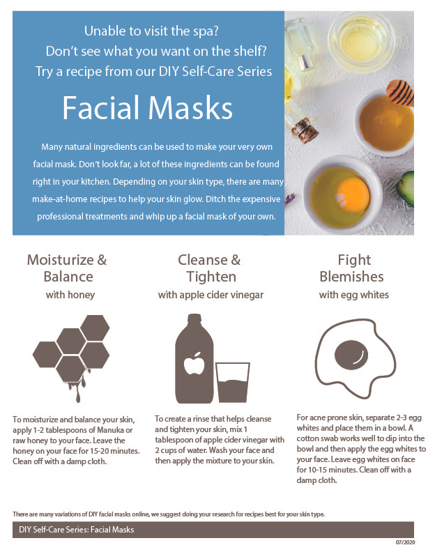 DIY Facial Masks