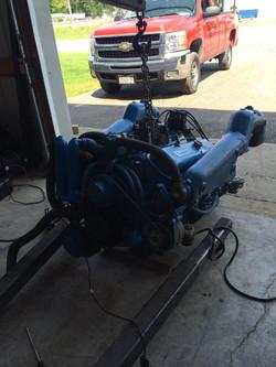 454 Reverse Rotation Boat Motor