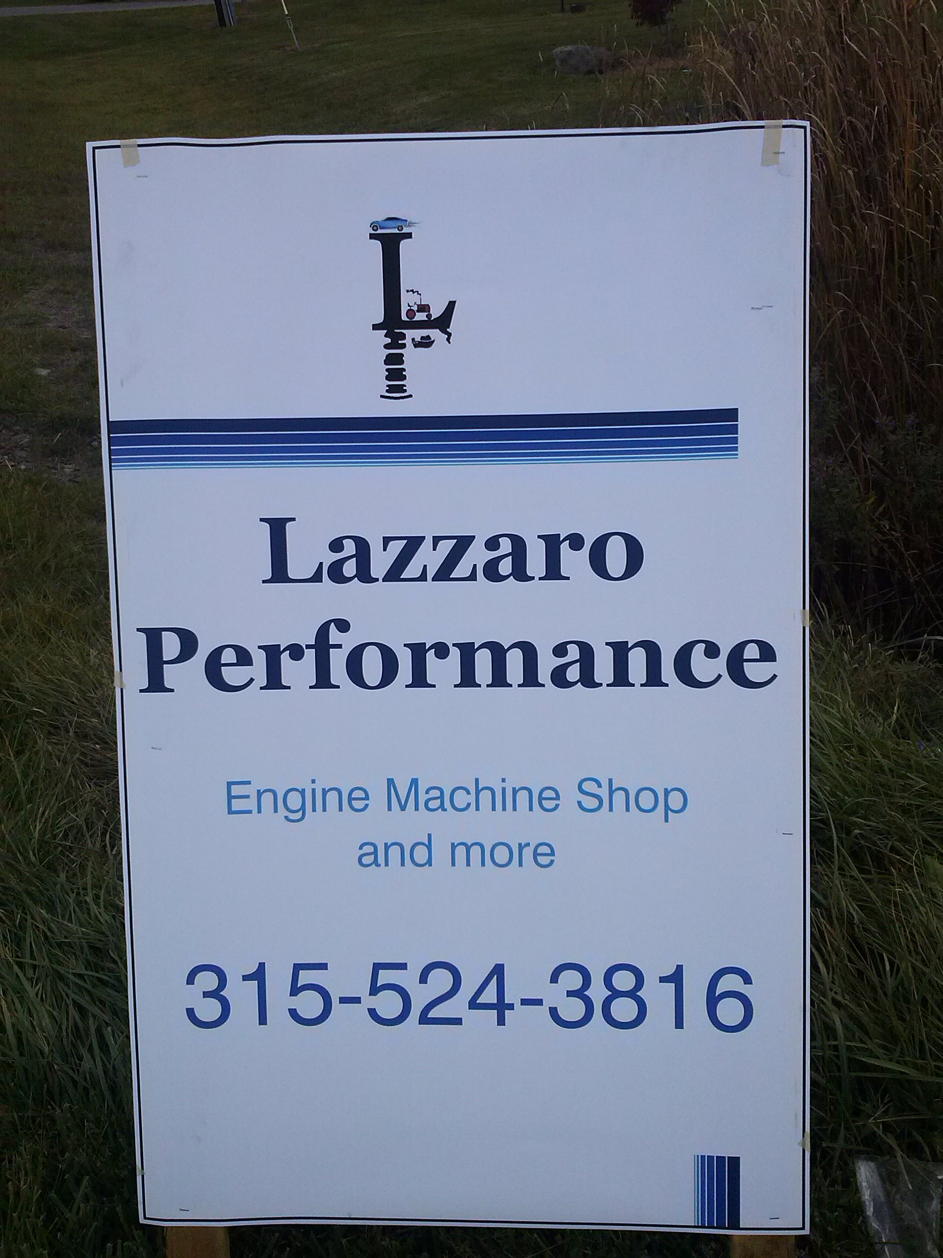 Lazzaro Performance, Inc.