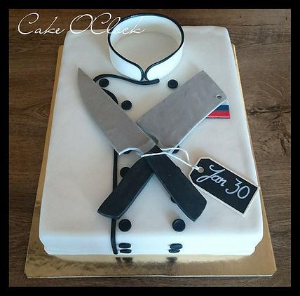 chef coat cake, torta kuharski jopič, torta srajca, srajica torta, torta jopič, coat cake, colar cake