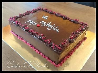 čokoladno malinova torta, čokoladna torta z malinami, torta z malinami in čokolado, malinina torta s čokolado, čokoladna torta, cake  o clock urška peče, cake  o clock, urška peče