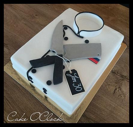 chef coat cake, torta jopič, kuharski jopič, torta kuhrski jopič, knife cake, clever knife, cake tutorial, cake o clock, urška peče, cake o clock urška peče