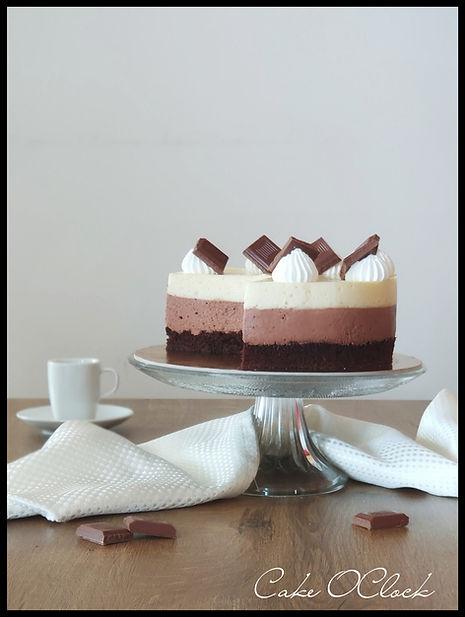 Puding torta, torta iz pudinga, torta s pudingom