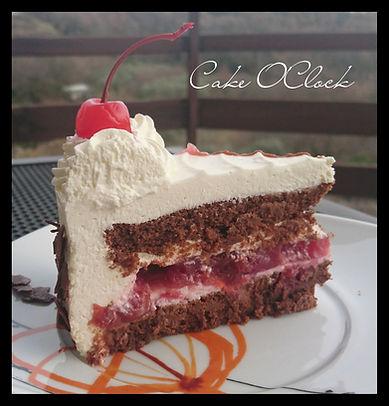 schwarzwald, schwarzwald torta, švarcvald, švarcvaldska torta, črni gozdiček, low carb, cake  o clock, urška peče