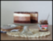 Nutellina torta z bananami, nutellina torta, nutelina torta