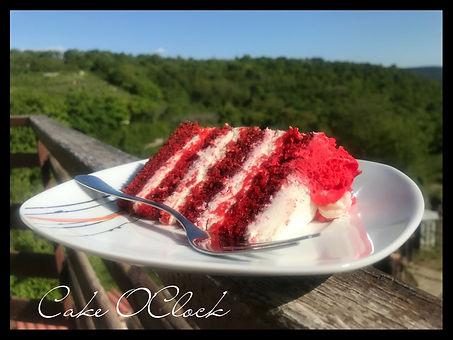 Red velvet torta, torta rdeči žamet
