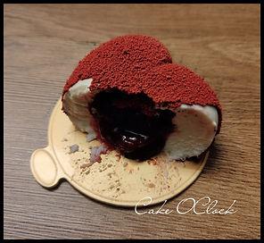 Vanilijeve tortice z jagodo, monoporcije, vlentinovo