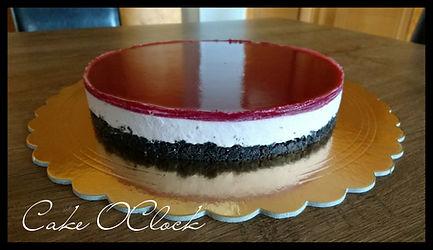 cheesecake, malinov cheesecake, torta, malinova torta, oreo, kremna torta, hitra torta, torta brez peke, malinina, malinova, torta z malinami