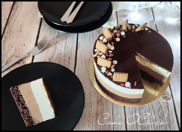 zimska medenjak torta, medenjak torta, praznična torta, urška peče, cake o clock
