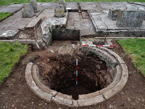 A site survey and excavation