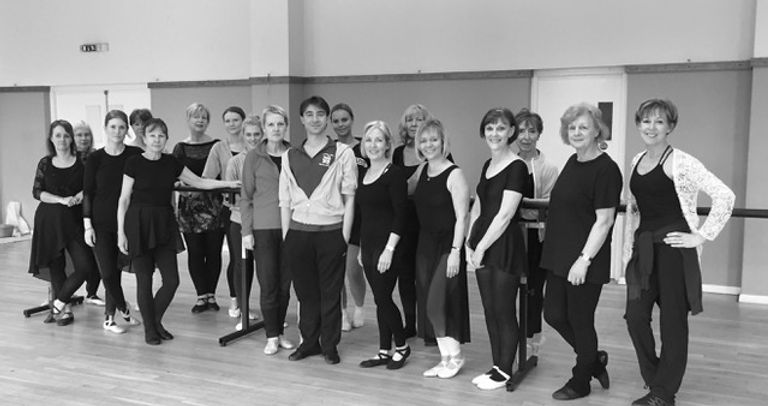 Master class from J Rodriguez from English National Ballet