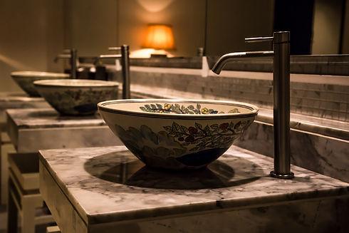 Hotel bathroom and sinks.jpg