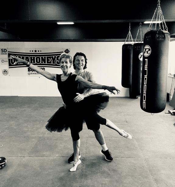 Deborah Nankivell practising with a partner.png