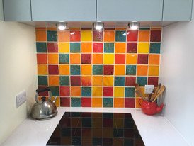 Juice Glazes backsplash