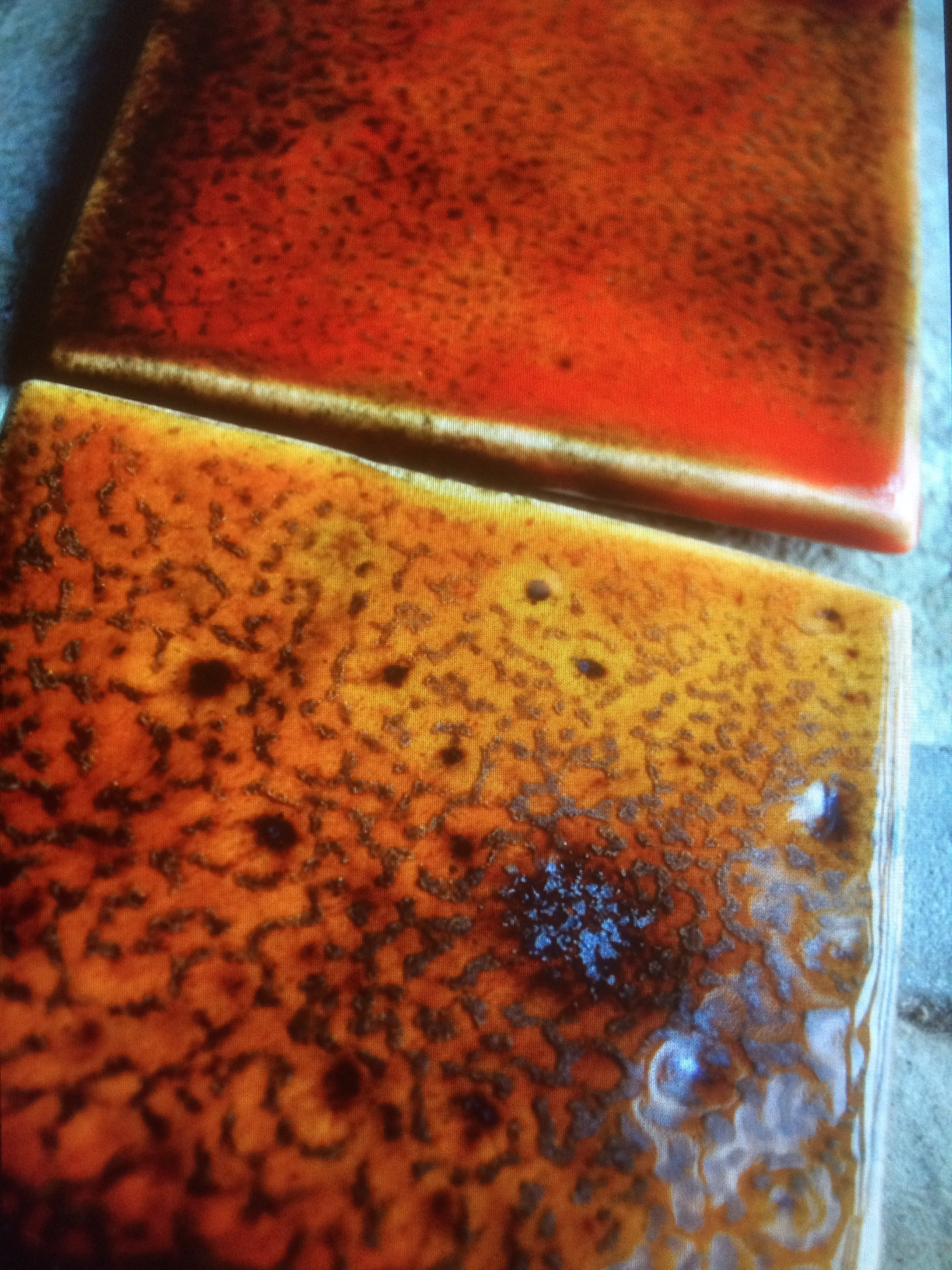 Chromatic Metallic Glazes
