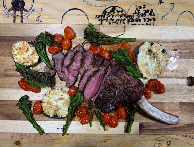 """We started with the Côte de Boeuf last week and it was amazing. Actually think it's the best steak we have ever cooked."" - @cookandcountryside"