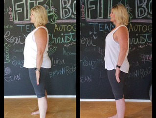 Jodie's Journey, Shrinking Muffin Top Knocks Out Month #2 Weigh In!