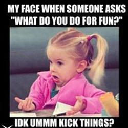 Fun Kick things