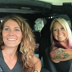 me and Christine