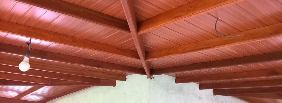 Finishing Roof Site At Talgasgoda Ambal Ceilinglanka